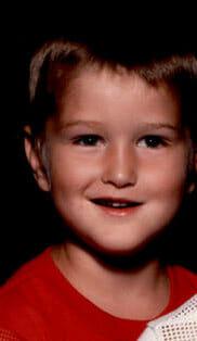 Portrait of Michael as a child